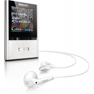 Philips GoGear Vibe 8 GB MP3 Player (cinza)