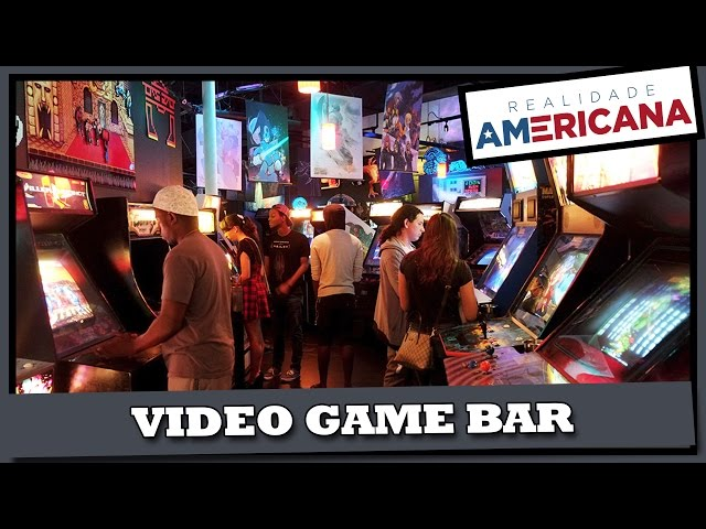 VIDEO GAME BAR – ORLANDO / FLORIDA