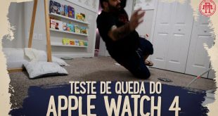 TESTE DE QUEDA DO APPLE WATCH 4