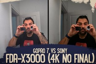 GOPRO 7 VS SONY FDR X3000 (4K NO FINAL)
