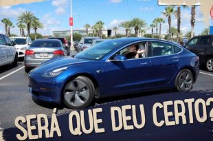 O TESLA ESTACIONA SOZINHO NO SHOPPING ???