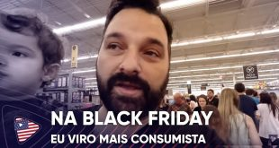 SOU CONSUMISTA NA BLACK FRIDAY