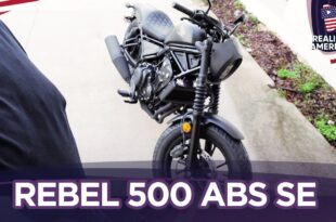 HONDA REBEL 500 ABS SE (REVIEW NOOB!?)